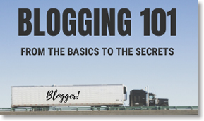 Blogging 101 where it all begins
