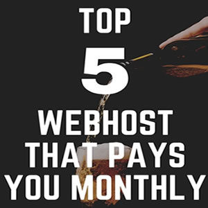 Top 5 Hosting Companies that Pay you Monthly